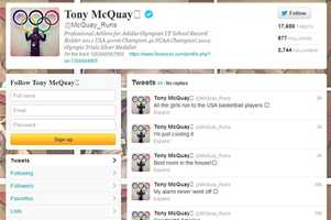 Tony McQuay -@McQuay_RunsMen's track and fieldFrom Gainesville and graduated from the University of Florida