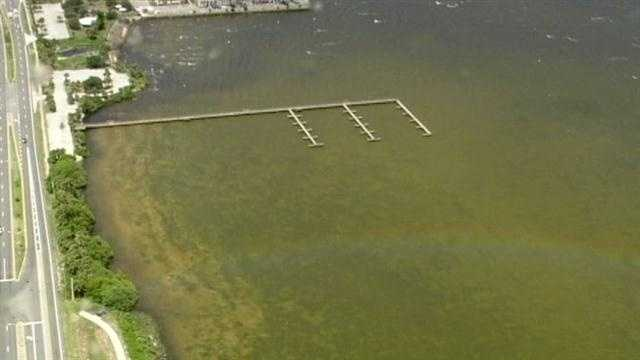 The largest waterway in central Florida has become a brown, smelly mess.