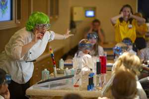 The Oceaneer Lab and Oceaneer Club are open to children from 3 to 12 years old.