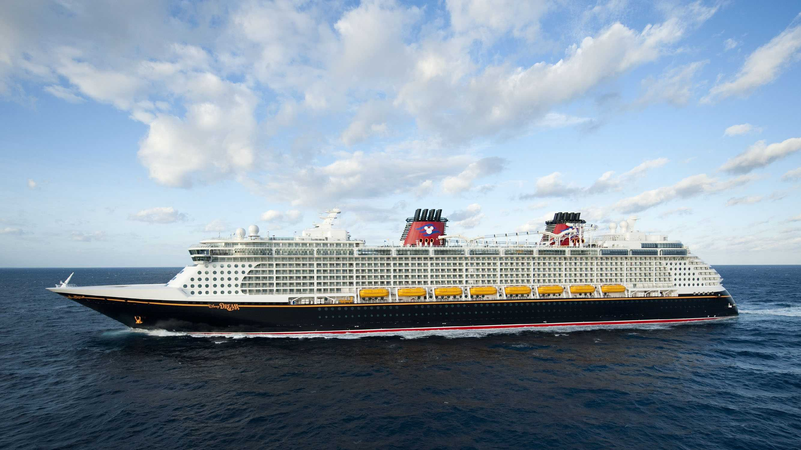 Sorcerer Mickey can be found sleeping on the stern of the Disney Dream.