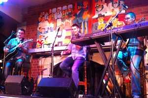 Raglan Road house band Creel performs.