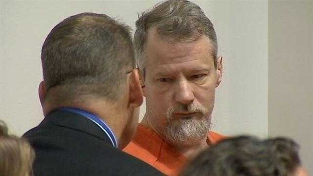 James Maxwell was arraigned on murder charges Thursday morning.