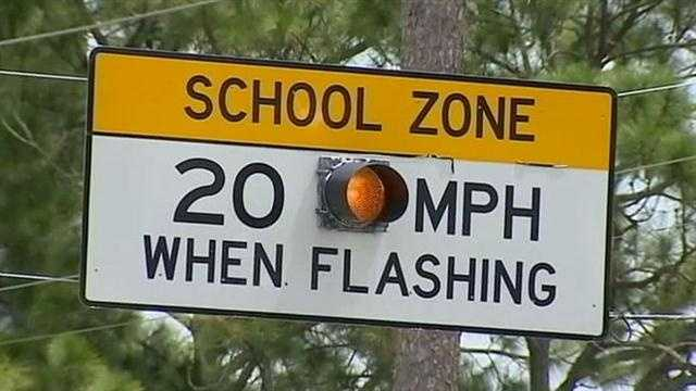 Despite the effort to bring attention to student safety getting to and from school, another child was hit Thursday morning in Deltona.