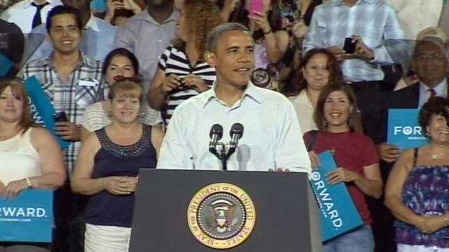 Obama visits Kissimmee