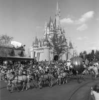 The Cinderella Day Parade in the 1970s.