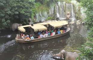 The Jungle Cruise boats have had a makeover since.