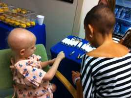 """Talia Castellano, 13, who has two types of cancer, will be sharing the gift that got her on """"Ellen."""""""