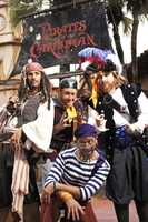 5. Captain Jack Sparrow's Pirate Tutorial at the Magic Kingdom.