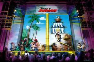 """8. Disney Junior-Live on Stage! at Disney's Hollywood Studios features the Disney Channel show """"Jake and the Never Land Pirates."""""""