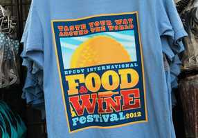 Shirts for men and women will be on sale throughout the duration of the festival.