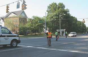 3. If a law enforcement officer is directing traffic where there are working signal lights, which should you obey?
