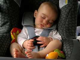 7. To what ages does the Child Restraint Law apply?