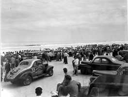 1947: Stock car racing. Car and motorcycle racing began on Daytona beach in 1902, but the official first stock car race was held on the Daytona Beach Road Course in 1936.