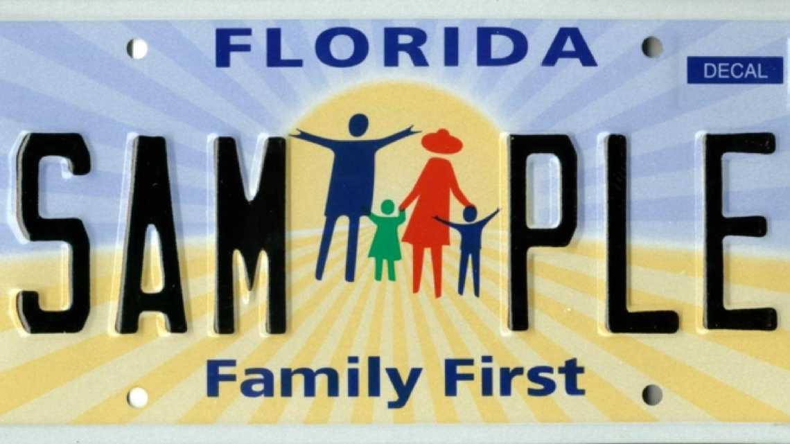 Images florida 39 s specialty license plates for Polk county motor vehicle registration
