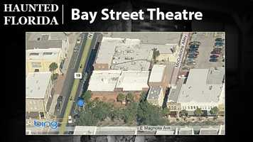 Bay Street Theatre – Actors at the Bay Street Theatre are said to have seen orbs floating in the costume and prop rooms. Also, HauntedFlorida.com reports that a man has been seen hanging by his neck from a hole in the balcony ceiling and stage lights have randomly dimmed and pulsed to a heartbeat rhythm while the switchboard remained unmanned.
