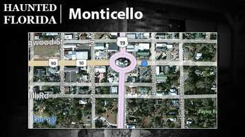 Monticello – This neighbor town to Tallahassee is an apparent haven for paranormal sights. Several ghost tours are offered here since it is believed that a multitude of dwellings are home to spirits.