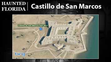 Castillo de San Marcos – The Old Fort is a popular place for supernatural enthusiasts. It's been featured on several television shows and is said to be haunted by soldiers and sailors alike. Strange cries and scents have been reported, too.