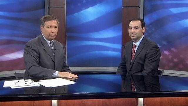 Republican Mike LaRosa appears on WESH 2 News Commitment 2012: Extra on Thursday.