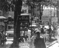 1964 - Arts festival downtown