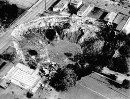 1981 - Winter Park sinkhole