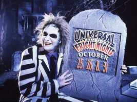 1991: Horror Nights began as Fright Nights in 1991 at Universal Studios in Orlando. Beetlejuice got things going.