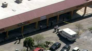 Four people were killed in a shooting at a Casselberry hair salon on Thursday morning in what police said was a domestic-related issue.
