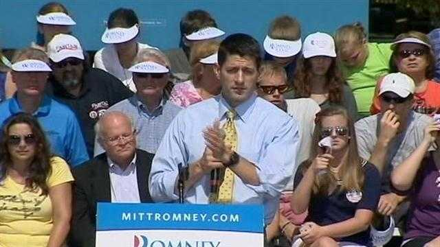 Rep. Paul Ryan visited central Florida Thursday.