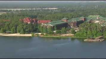 Guests can sail from the Wilderness Lodge, through Bay Lake and the Seven Seas Lagoon, before docking at the entrance of the Magic Kingdom.