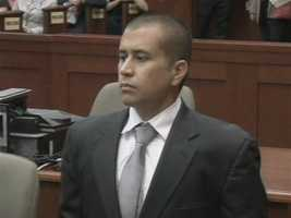 George Zimmerman's first bond appearance in April 2012.