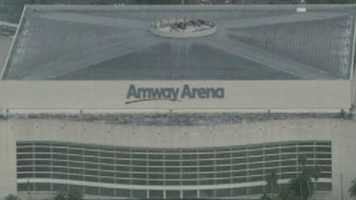 Amway imploded: Dynamite ends the Amway Arena's two-decade run in Orlando. See the images.