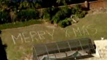 Chopper's holiday greeting: Orange County man sends a Christmas message to Chopper 2 pilot Dan McCarthy. Watch the video.