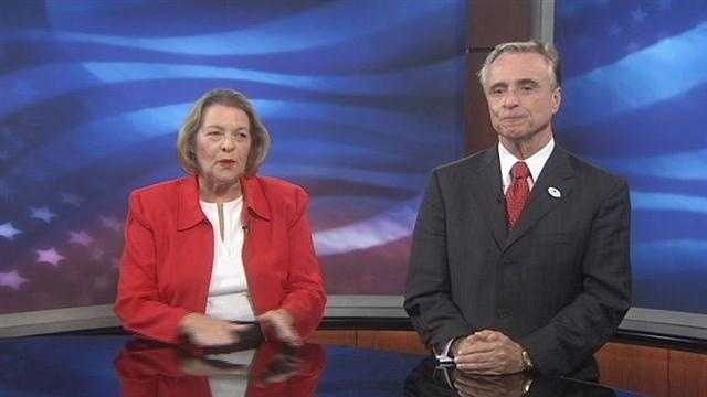 Candidates for Senate district 8 made an appearance on WESH 2 News' political show, Commitment Extra Monday.