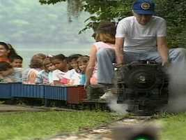 A Seminole County man keeps his mini-railroad running Just Wright. Watch the story