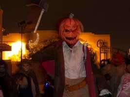 2. Universal's Halloween Horror Nights in Orlando, FL.