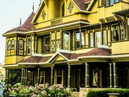 5. Winchester Mystery House in San Jose, CA.
