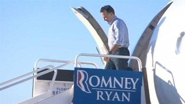 Romney, Obama tied in Florida