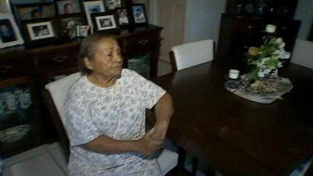 Elderly Woman Attacked