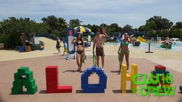 Aloha, and welcome to the Legoland Water Park.