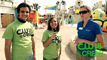 Talking new attractions at Wet 'n Wild.