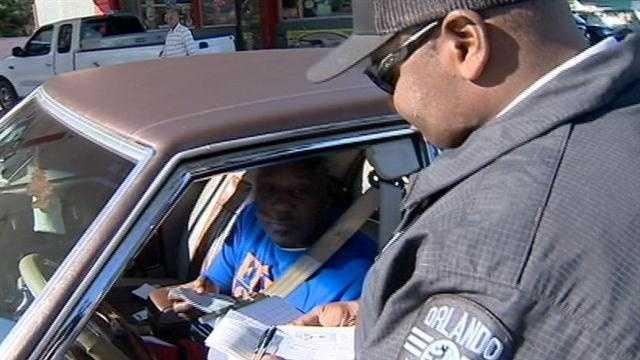 Officers continue crosswalk crackdown