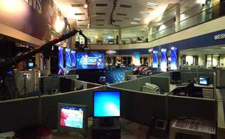 Another look at the newsroom.