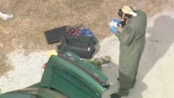 Officials in Winter Garden are investigating a methamphetamine laboratory found in a vehicle near Bay Street.