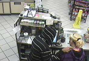 Detectives in Palm Bay are investigating an armed robbery at a convenience store early Friday.