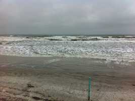 Elevated surf during several days of high tide cycles could cause more beach erosion this week.
