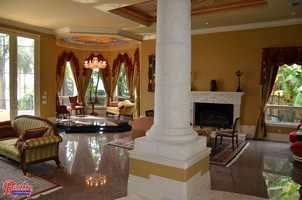 A 9,000 square foot Orlando home sitting on Lake Tibet is headed to the auction block.