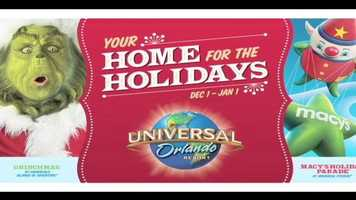 The holidays return to Universal Orlando Saturday with the kick off of several events this weekend.