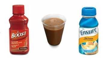 Nutritional drinks - Drinks such as Ensure and Boost