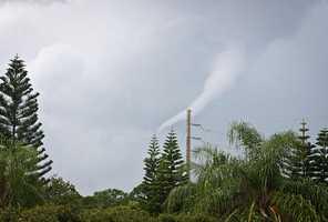Funnel cloud in Apopka.