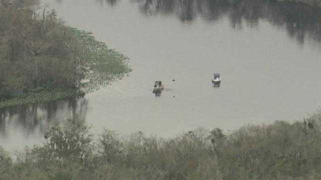 A body was found in the St. Johns River by a boater Wednesday, according to the Volusia County Sheriff's Office.