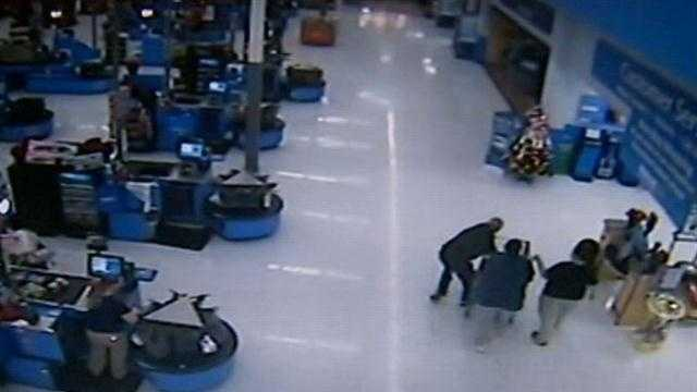Police: Walmart robber caught after snatching money bag